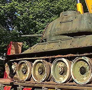 Tanks T-34-85 no Mika Lihmusa kolekcijas