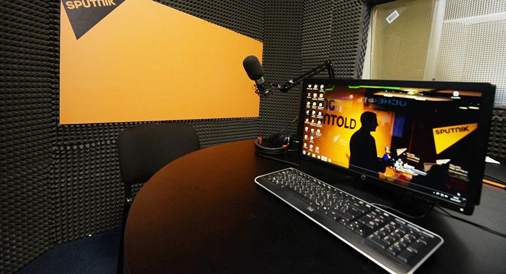 В студии радио Sputnik