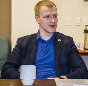 Кандидат в мэры Даугавпилса Андрей Элксниньш, архивное фото