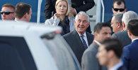 Госсекретарь США Рекс Тиллерсон прибыл в Международный аэропорт Внуково в Москве