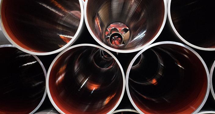 Трубы для Северного потока - 2, архивное фото