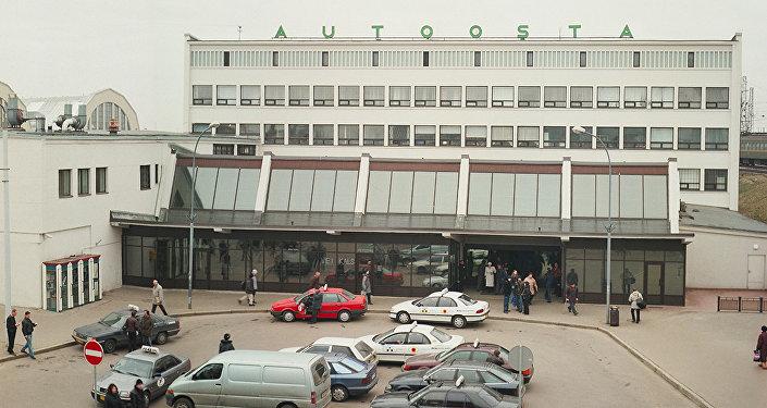 Здание Рижского автовокзала