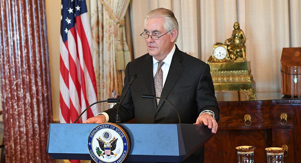 Государственный секретарь США Рекс Тиллерсон, архивное фото