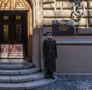 Здание Сейма Латвийской республики