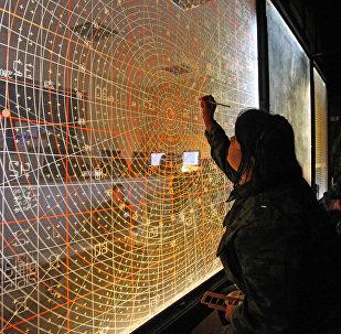 Командный пункт управления учений войск ПВО, архивное фото
