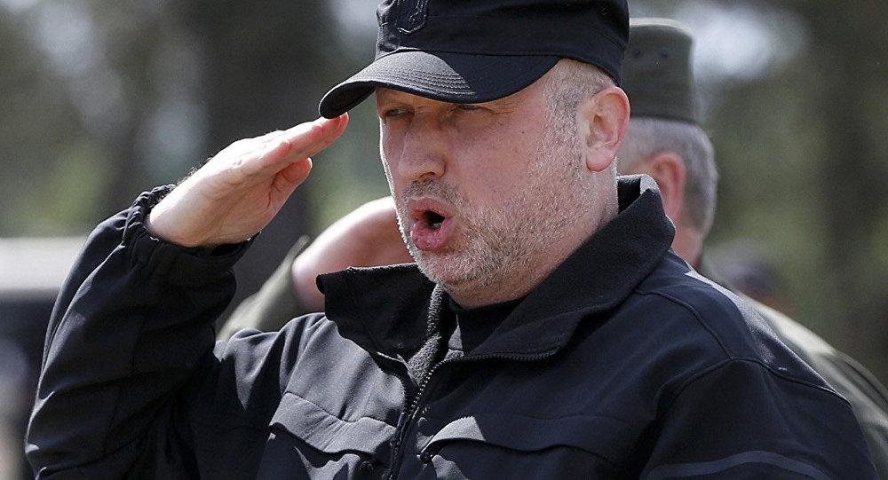Nacionālās drošības un aizsardzības padomes (NDAP) sekretārs Aleksandrs Turčinovs