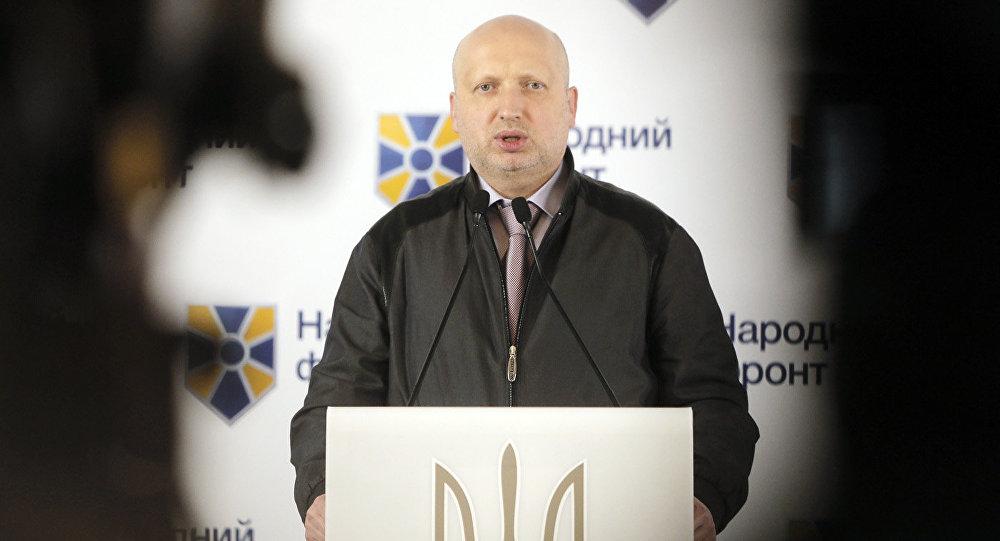 Секретарь Совета национальной безопасности и совета обороны Украины Александр Турчинов