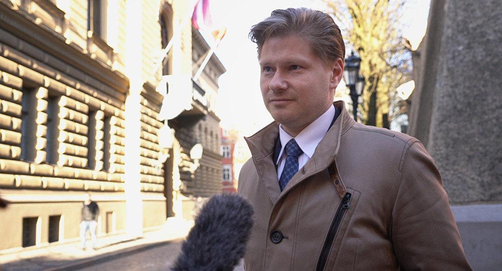 Депутат Сейма Латвии Сергей Потапкин