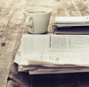 Rīta avīze. Foto no arhīva