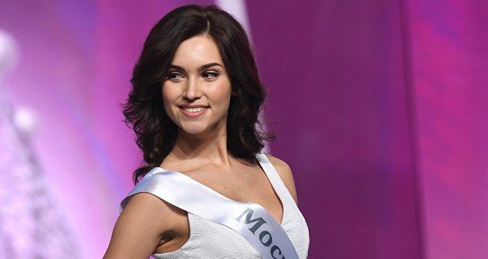 Ксения Александрова в финале конкурса Мисс Россия 2017