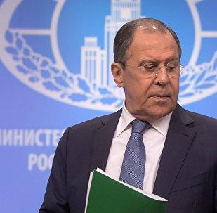 Ārlietu ministrijas vadītājs Sergejs Lavrovs