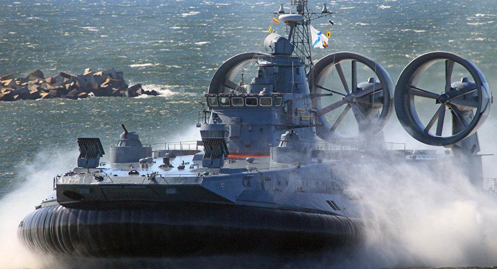 Малый десантный корабль на воздушной подушке Евгений Кочешков