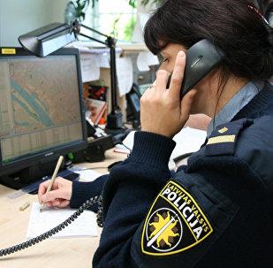 Полицейский Латвии