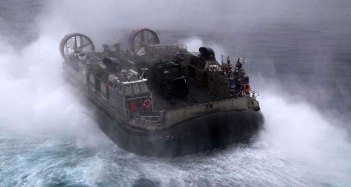 ASV flotes amfībija NATO mācībās. Foto no arhīva