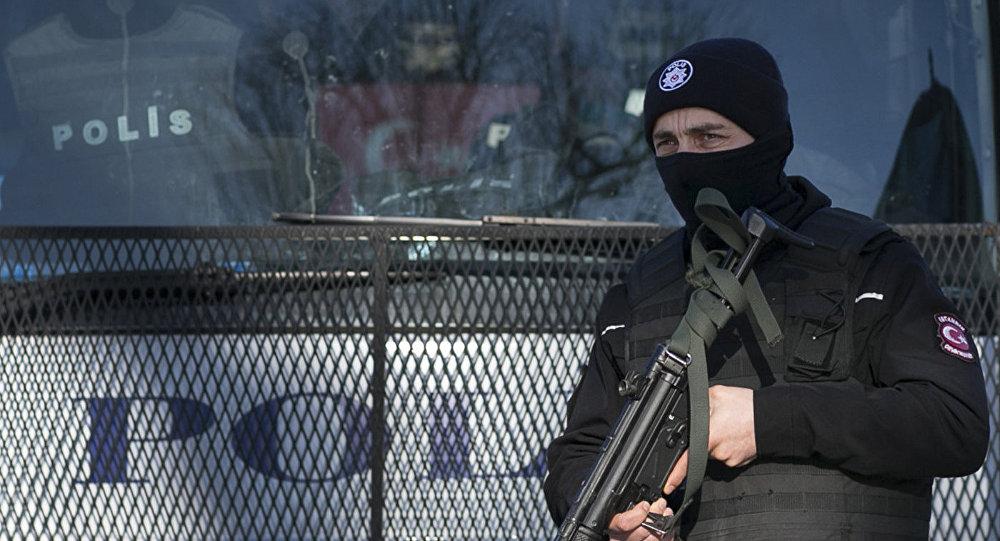 Турецкая полиция, архивное фото