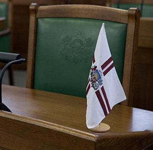 Кресло в Сейме Латвии