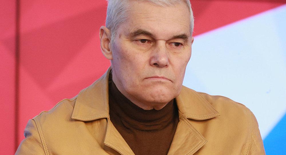 Член-корреспондент Российской академии ракетных и артиллерийских наук Константин Сивков