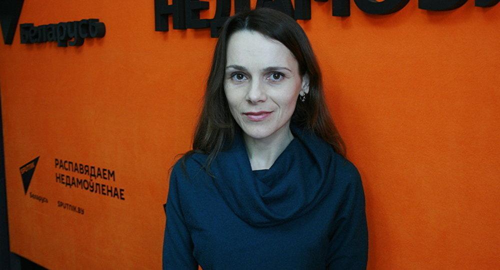 Научный сотрудник центральной научной библиотеки имени Якуба Коласа Национальной академии наук Беларуси Ольга Губанова