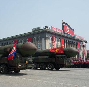 Korejas Tautas armijas starpkontinentālo ballistisko raķešu starta iekārtas