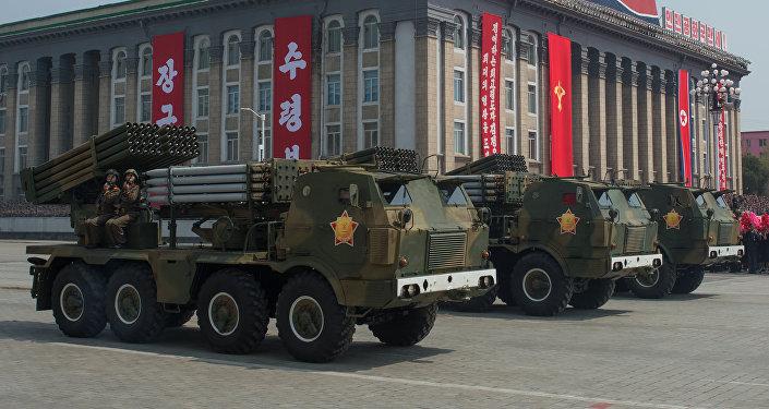 Korejas Tautas armijas starpkontinentālo ballistisko raķešu palaišanas iekārtas