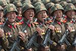 Военнослужащие армии КНДР