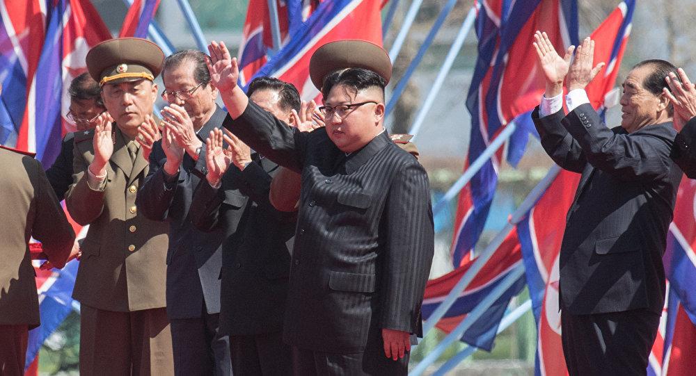 Глава КНДР Ким Чен Ын, архивное фото