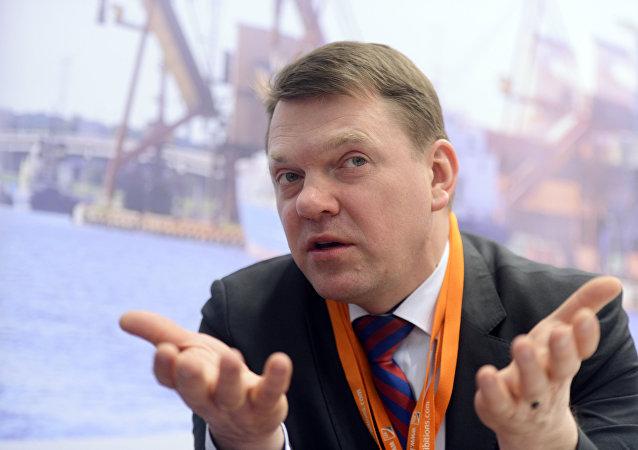 Глава Латвийской железной дороги Эдвинс Берзиньш, архивное фото