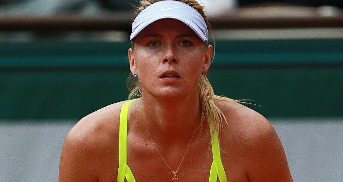 Российская теннисистка Мария Шарапова, архивное фото