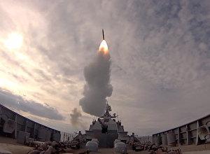 Raķešu mācības Baltijas jūrā