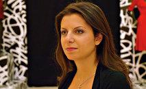 Telekanāla RT un Starptautiskās ziņu aģentūras Rossija Segodņa galvenā redaktore Margarita Simoņana