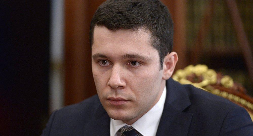 Врио губернатора Калининградской области Антон Алиханов