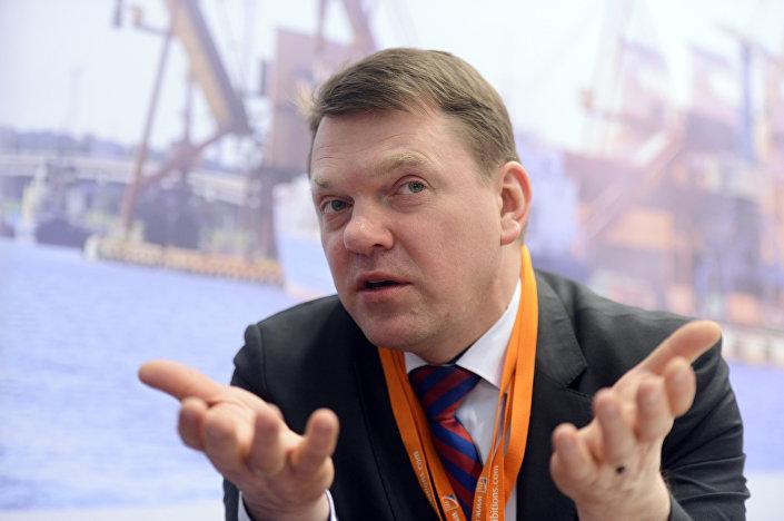 Глава Латвийской железной дороги Эдвинс Берзиньш