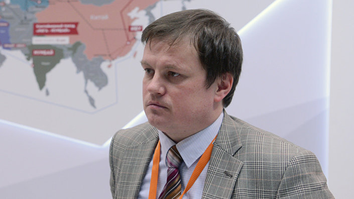 Заместитель управляющего Вентспилсского свободного порта Игорь Удодов