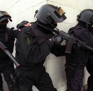 Krievijas FDD darbinieki. Foto no arhīva