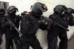 Бойцы Управления А ЦСН ФСБ России