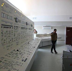 Панель управления БелАЭС, архивное фото