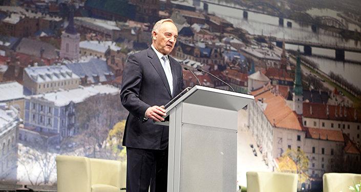 Экс-президент Андрис Берзиньш