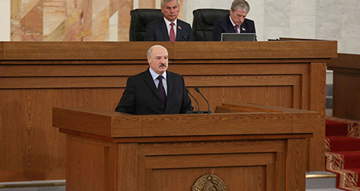 Baltkrievijas prezidents Aleksandrs Lukašenko