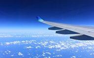 Lidmašīnas spārns. Foto no arhīva