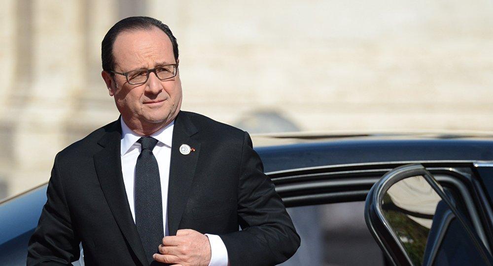 Esošais Francijas prezidents Fransuā Olands