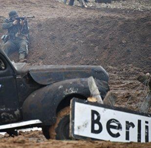 Kara vēsturiskā rekonstrukcija Berlīnes ieņemšana