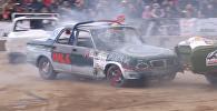 Netitānu cīņa: Baltkrievijā norisinājās automašīnu kauja