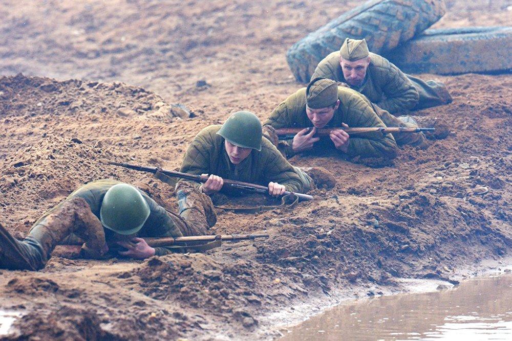 Военно-историческая реконструкция Штурм Берлина