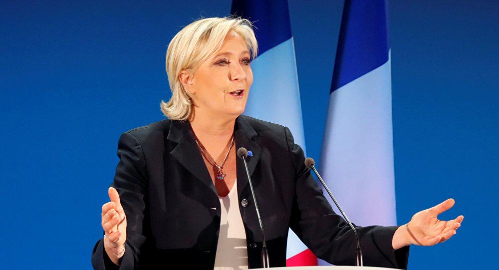 Марин Ле Пен кандидат в президенты Франции