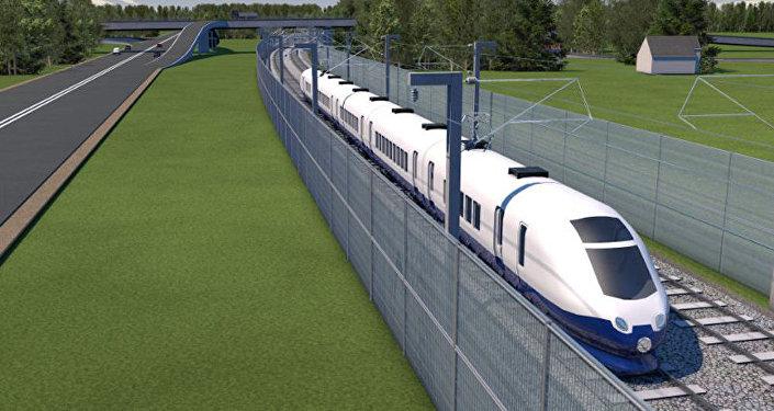 Rail Baltica projekta vizualizācija