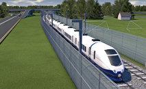 Projekta Rail Baltica vizualizācija