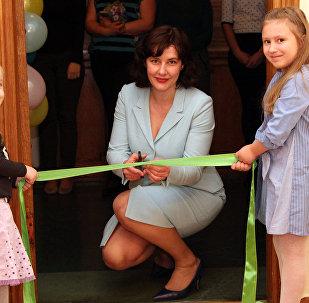 Открытие детской комнаты в Министерстве финансов