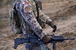 Латвийский военный