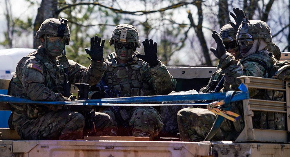 Американские военные передают привет