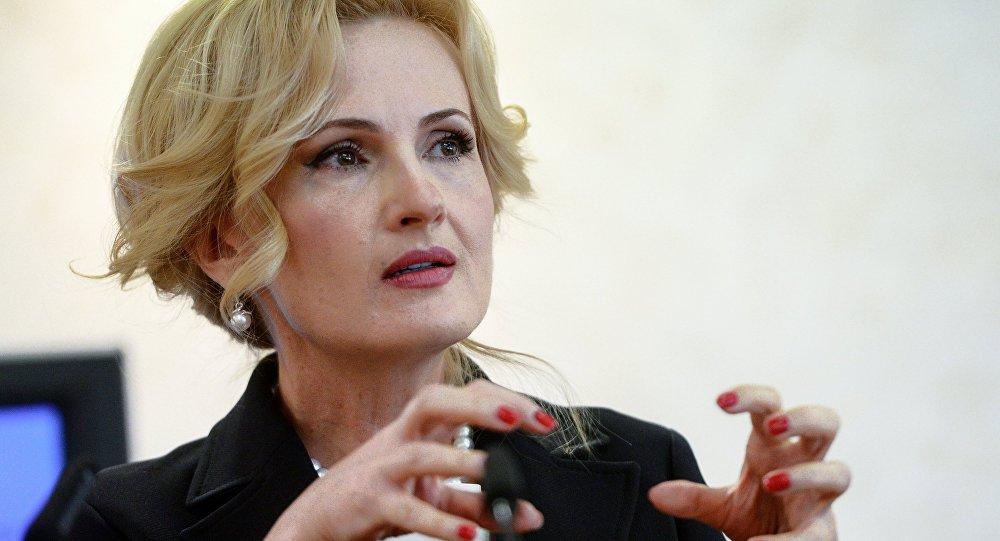 Заместитель председателя Государственной Думы РФ Ирина Яровая